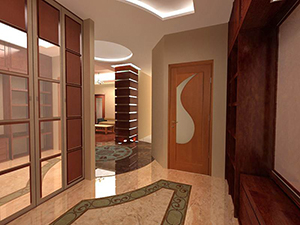 Дизайнерская отделка квартиры в новостройке